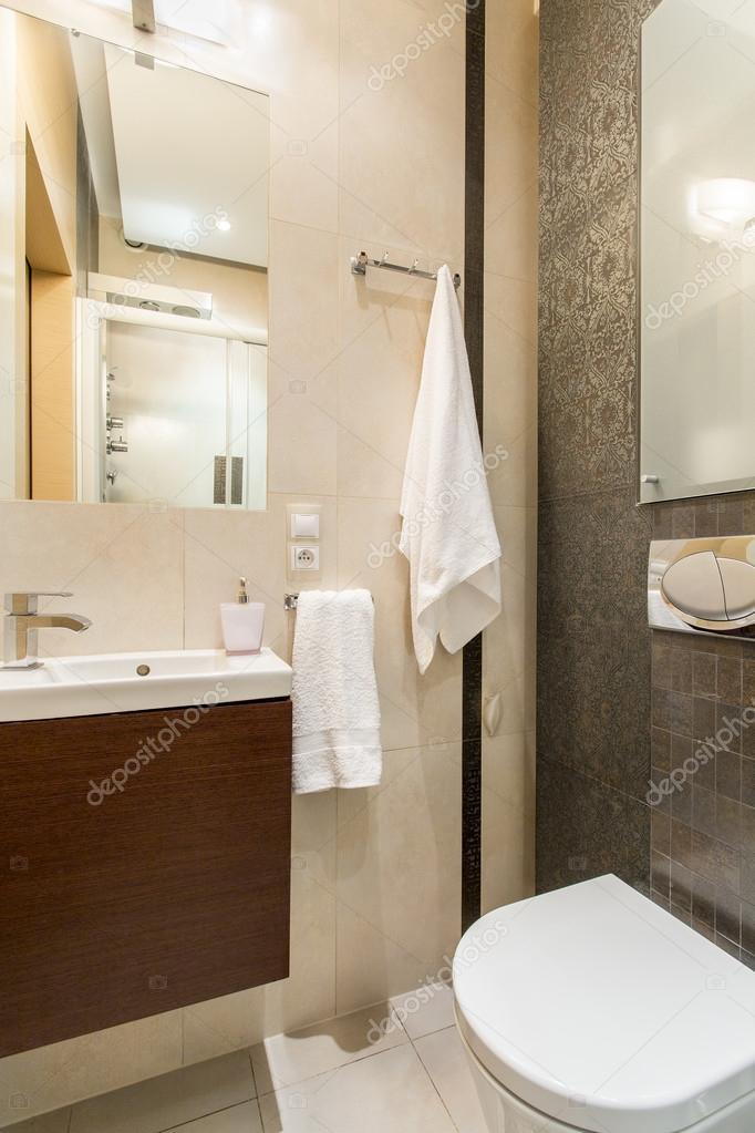 Diseño de baño pequeño — Fotos de Stock © photographee.eu #114258996