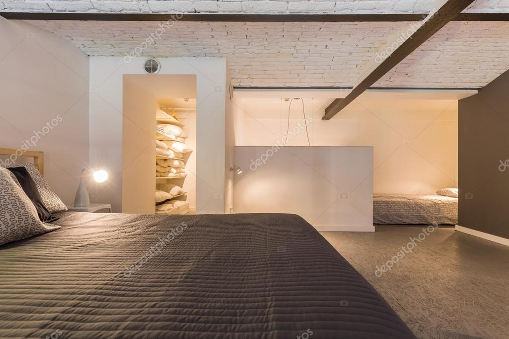 Slaapkamer met ontspannen sfeer — Stockfoto © photographee.eu #116306482
