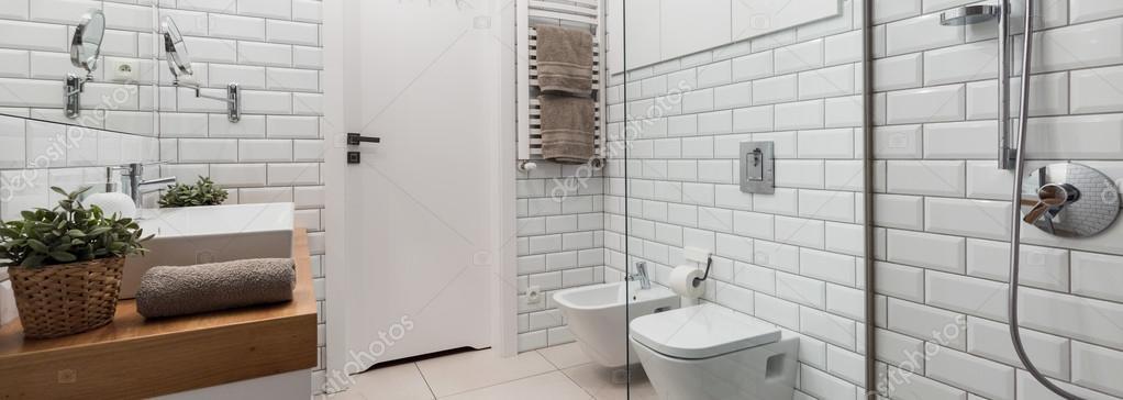 Voorbeeld van de moderne slaapkamer — Stockfoto © photographee.eu ...
