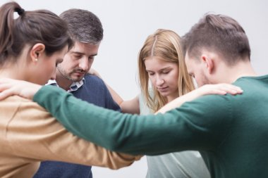 Offering support and understanding for one another