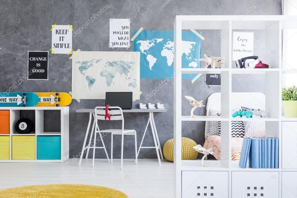 Perfecte kamer voor een tiener u2014 stockfoto © photographee.eu #117247482