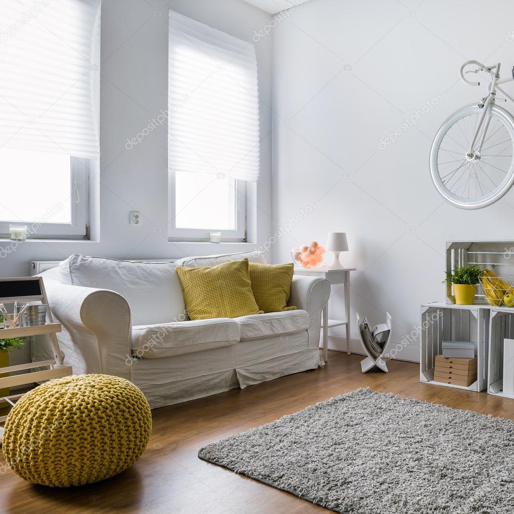 Wohnzimmer Dekor-Ideen — Stockfoto © photographee.eu #117320376