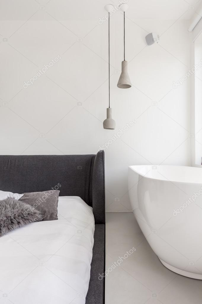 Two steps from bath to bed — Stock Photo © photographee.eu #117709290