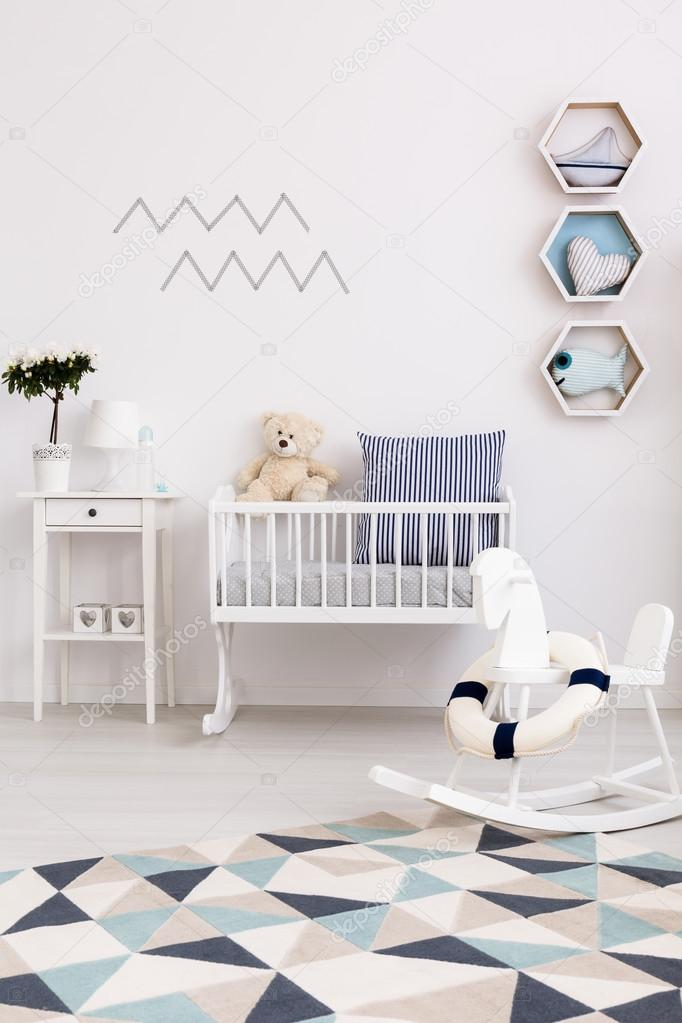 Baby Welcome Home Decoration Ideas Baby Boy With Zeal For Adventure Is Welcome Here Stock Photo C Photographee Eu 118824514