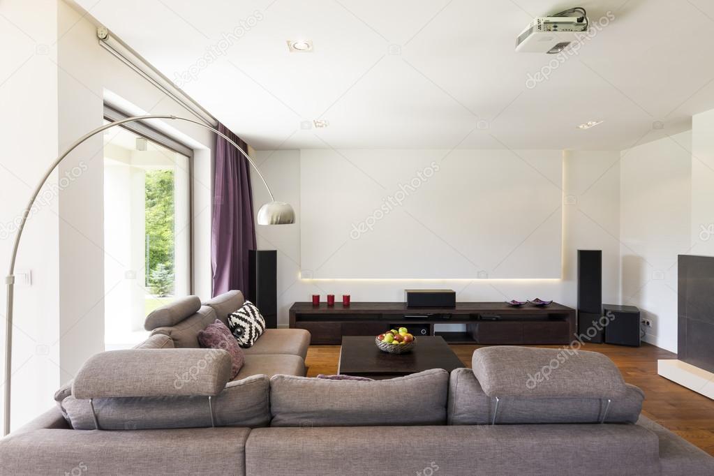 New home theatre idea — Stock Photo © photographee.eu #118825230