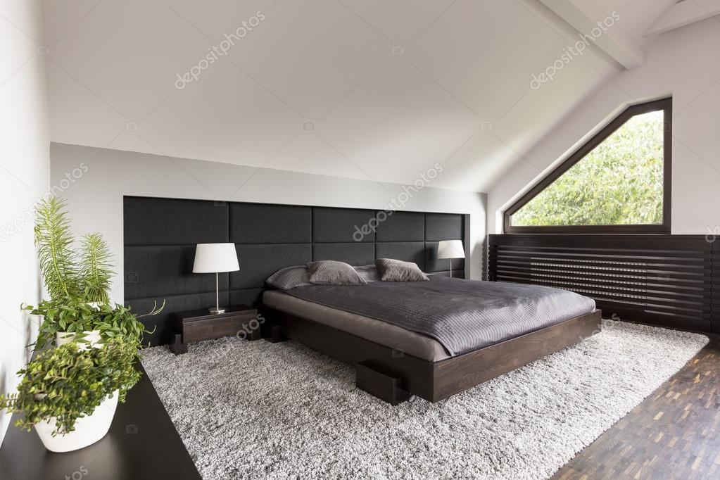 Slaapkamer met Japanse bed idee — Stockfoto © photographee.eu #118825448