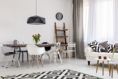 Simplicity of colours resulting in stunning interior design