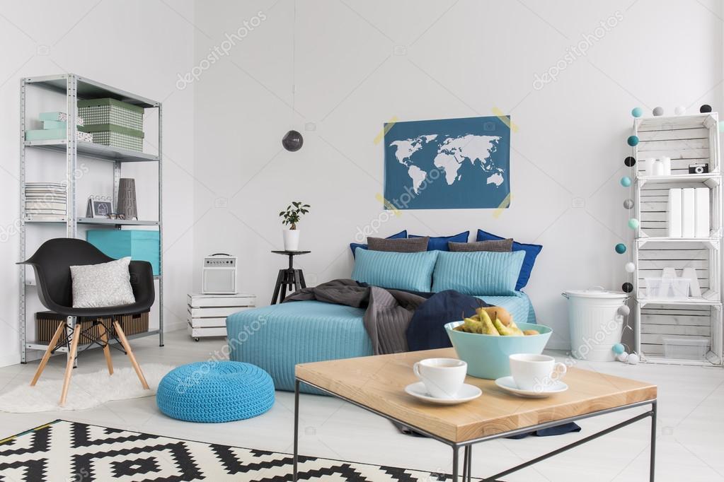 Moderne Interieur Ideeen : Modern interieur met eco vriendelijke ideeën u stockfoto