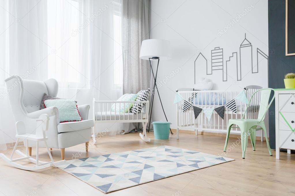 Babyzimmer Deko-Ideen — Stockfoto © photographee.eu #120797406