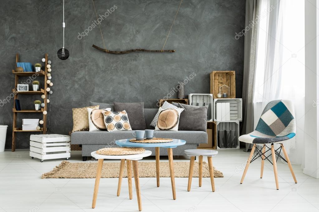 Woonkamer in minimalistische stijl u stockfoto photographee eu