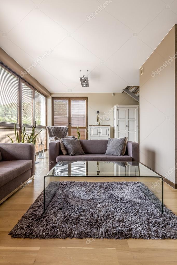 Kleines Wohnzimmer — Stockfoto © photographee.eu #122482428