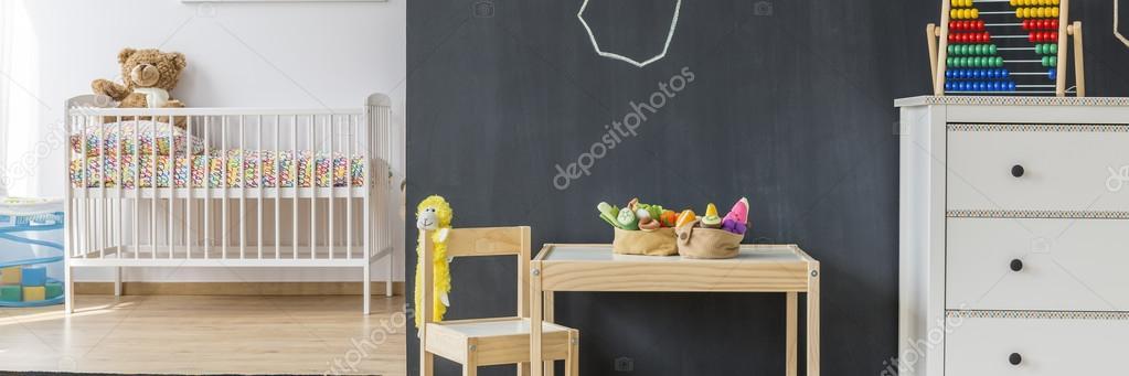 Tafel im Kinderzimmer — Stockfoto © photographee.eu #123380396