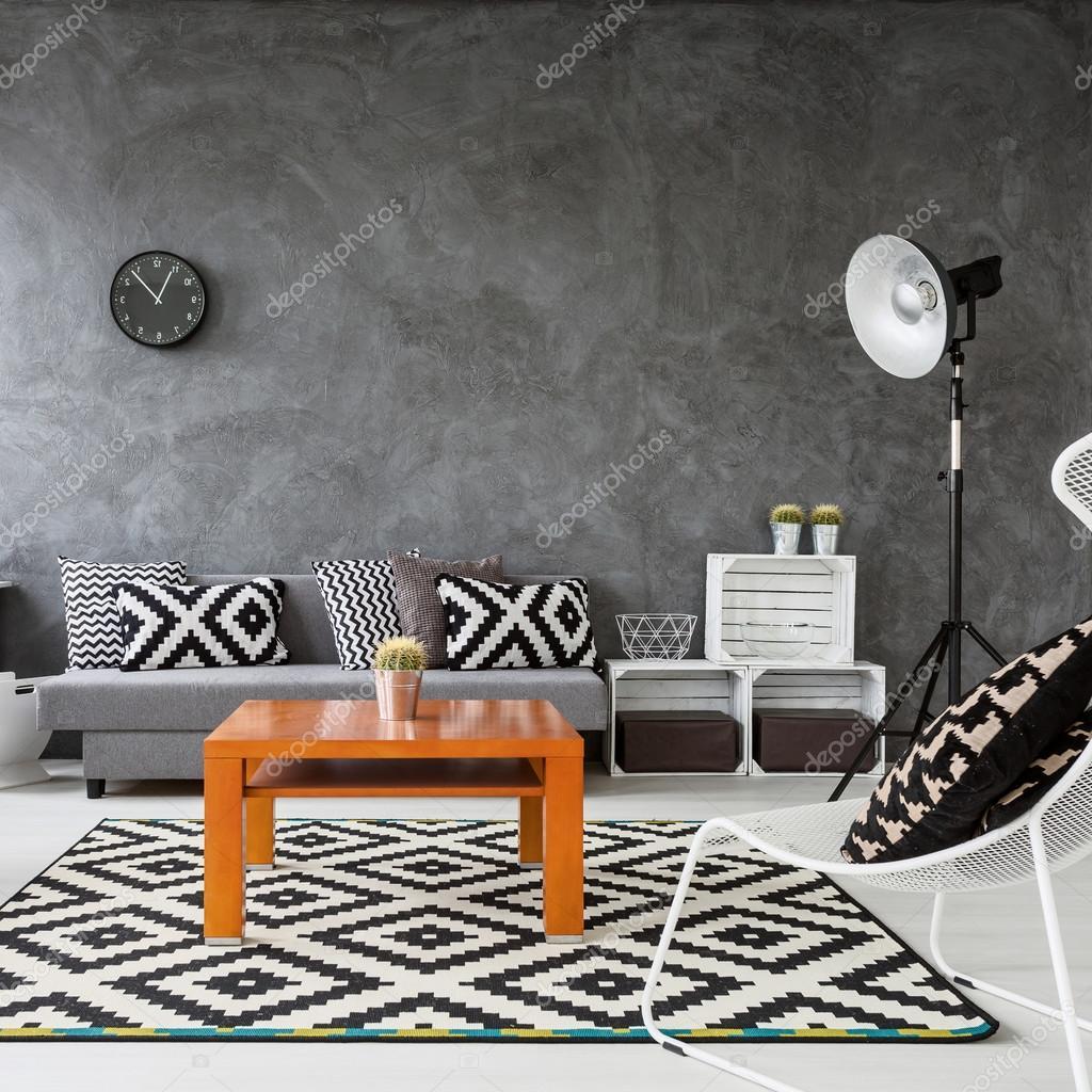 Spiel der Farben im Wohnzimmer — Stockfoto © photographee.eu #124551428