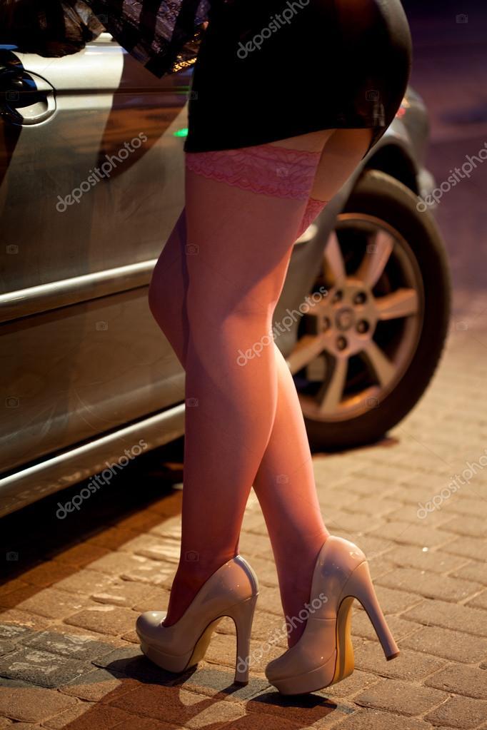 chicas protituta prostitutas en la calle