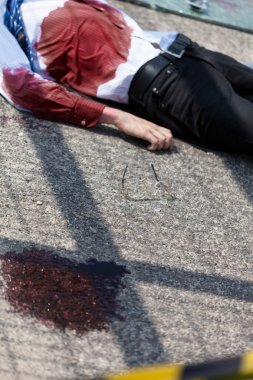 Dead man after car accident