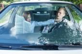 Pár peroucí pokyny pro řidiče