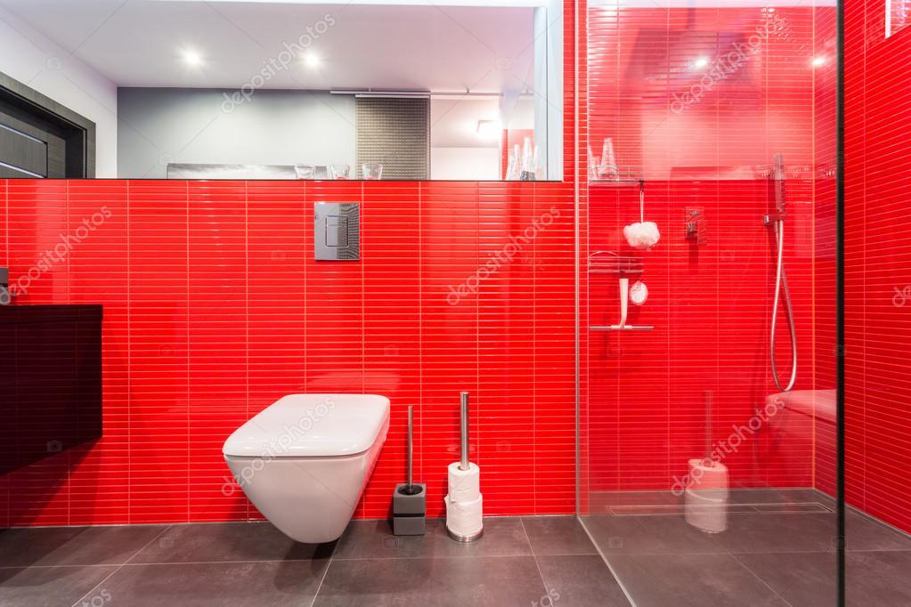 Mattonelle rosse sulla parete u foto stock photographee eu