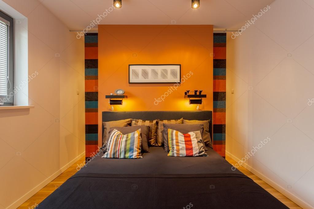 Gemütliche Moderne Schlafzimmer Interieur Für Junges Paar U2014 Foto Von  Photographee.eu