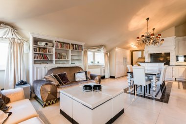 Spacious apartment in baroque style