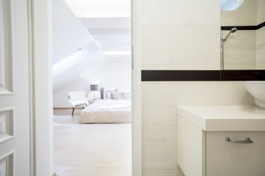 Luxury and spacious bedroom