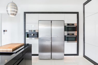 Expensive kitchen in modern house