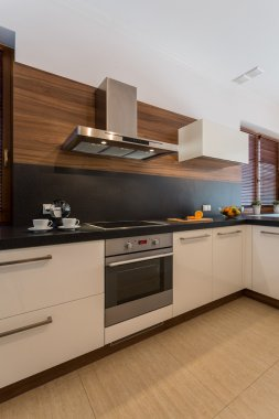 Cozy contemporary kitchen interior