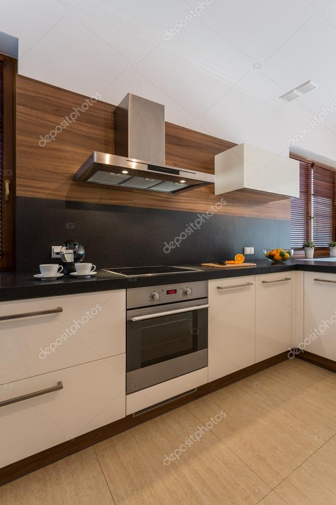 Gemütliche, Moderne Küche Interieur U2014 Stockfoto