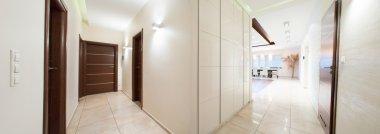 Panorama of hallway