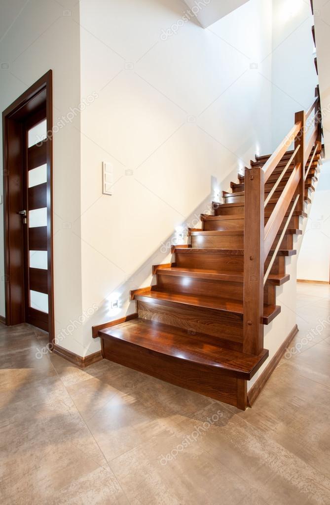 Fotos Escaleras Modernas De Madera Escalera De Madera En Casa