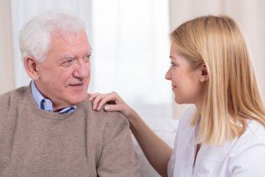 Retiree and senior care assistant