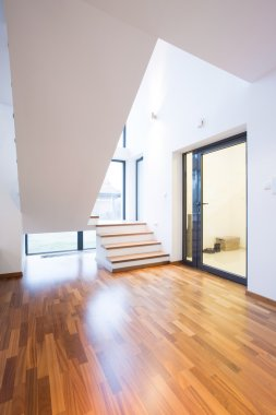 Stairs on the floor