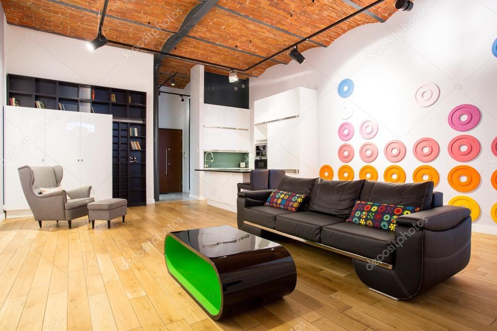 Diseño interior con muebles contemporáneos — Fotos de Stock ...