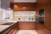 dřevěné kuchyňské linky