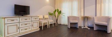 Bright and elegant room