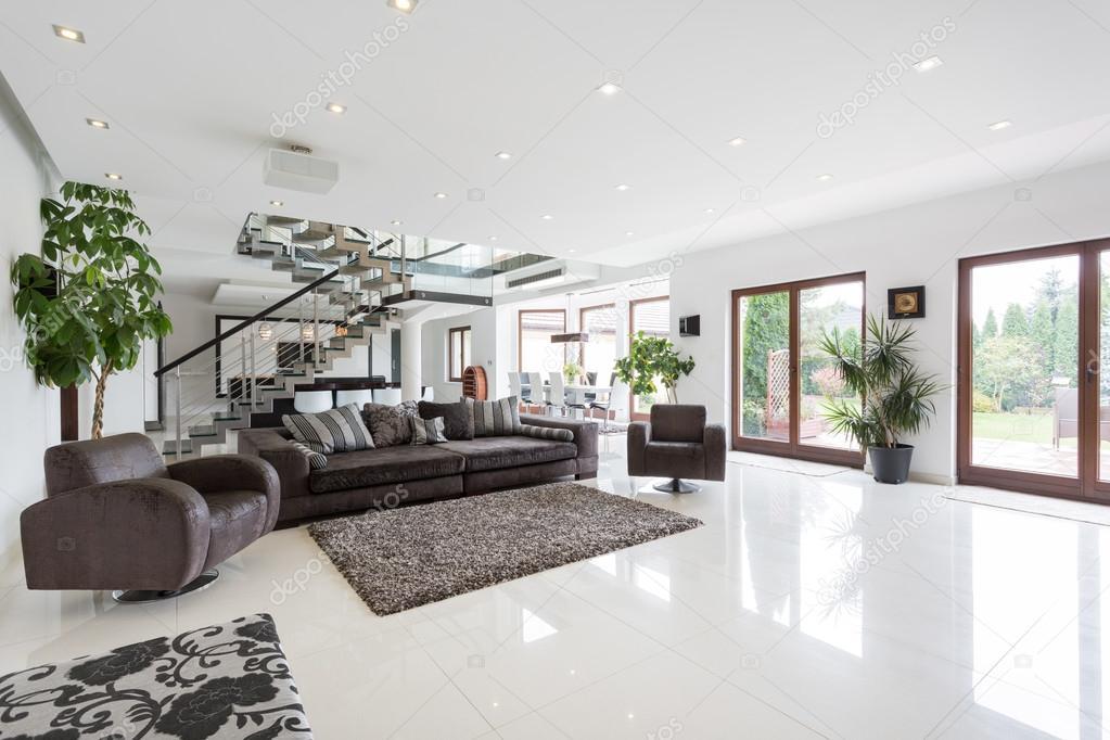 Fotos amplio sala comedor amplio living comedor con for Arredare soggiorno grande