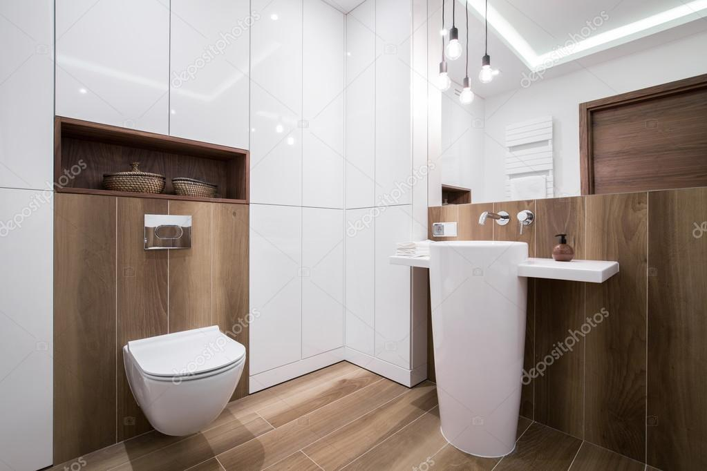 Een Gezellige Badkamer : Moderne gezellige badkamer u stockfoto photographee eu