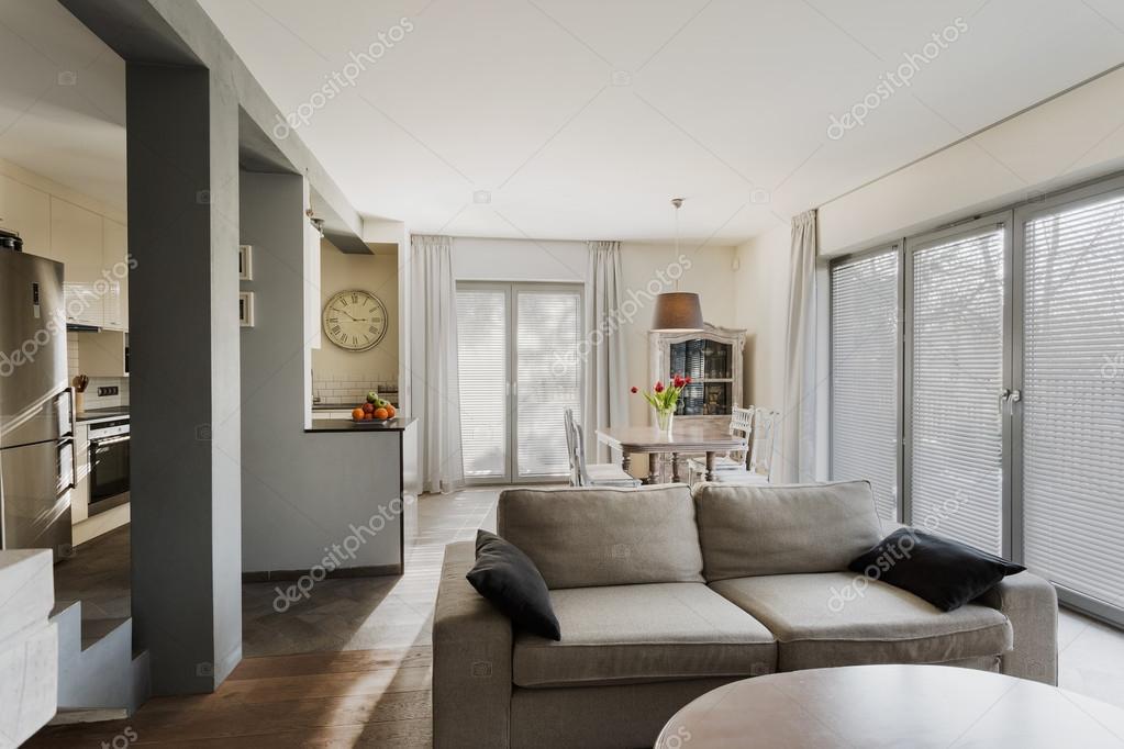 Stilvolle lounge und speisesaal u2014 stockfoto © photographee.eu #75788187
