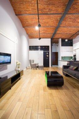 modern bed sitting room