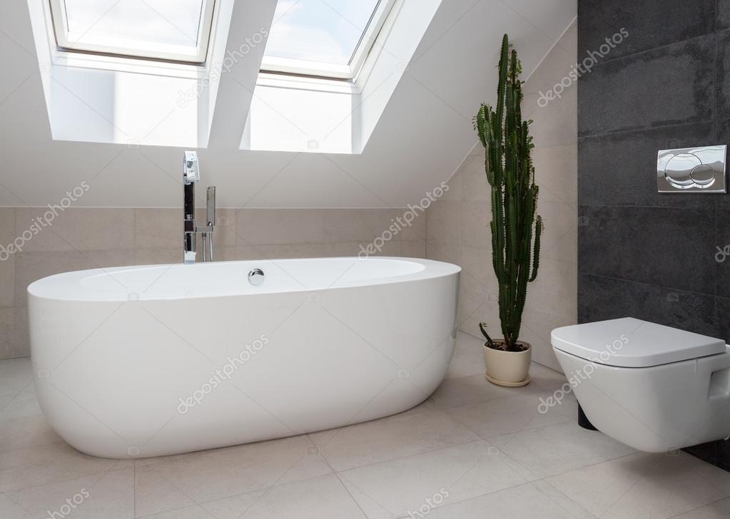 Vasca Da Bagno Centro Stanza : Vasca da bagno centro stanza bianca u foto stock photographee eu