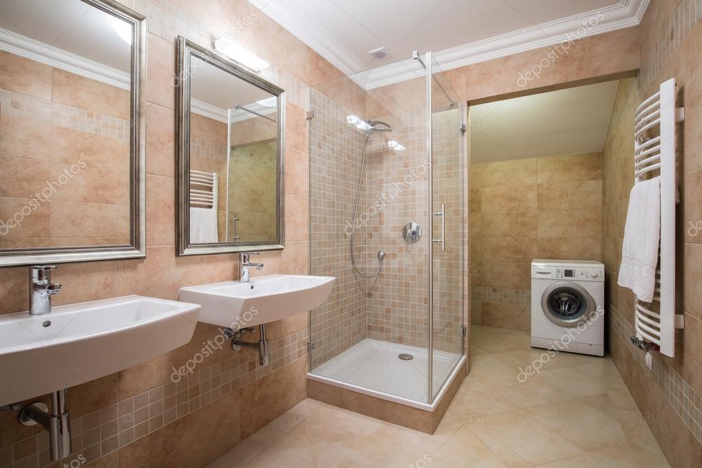 Wasmachine In Badkamer : Badkamer wasmachine dingen die ik leuk vind