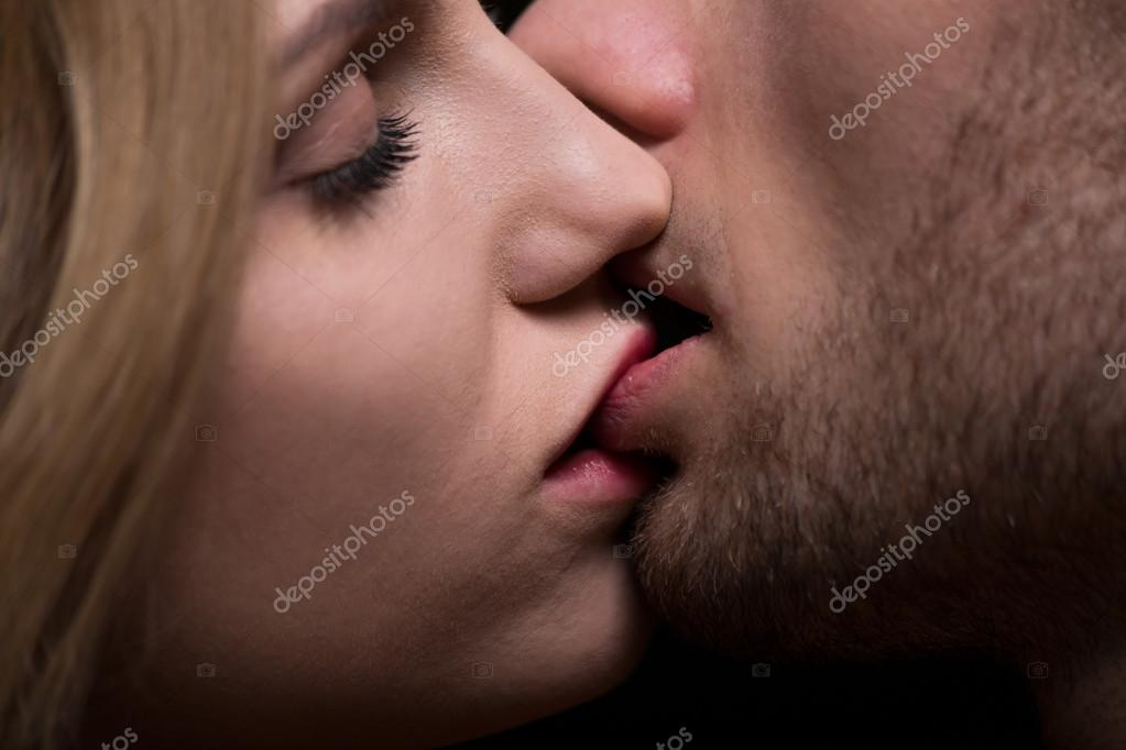 Close-up of kissing