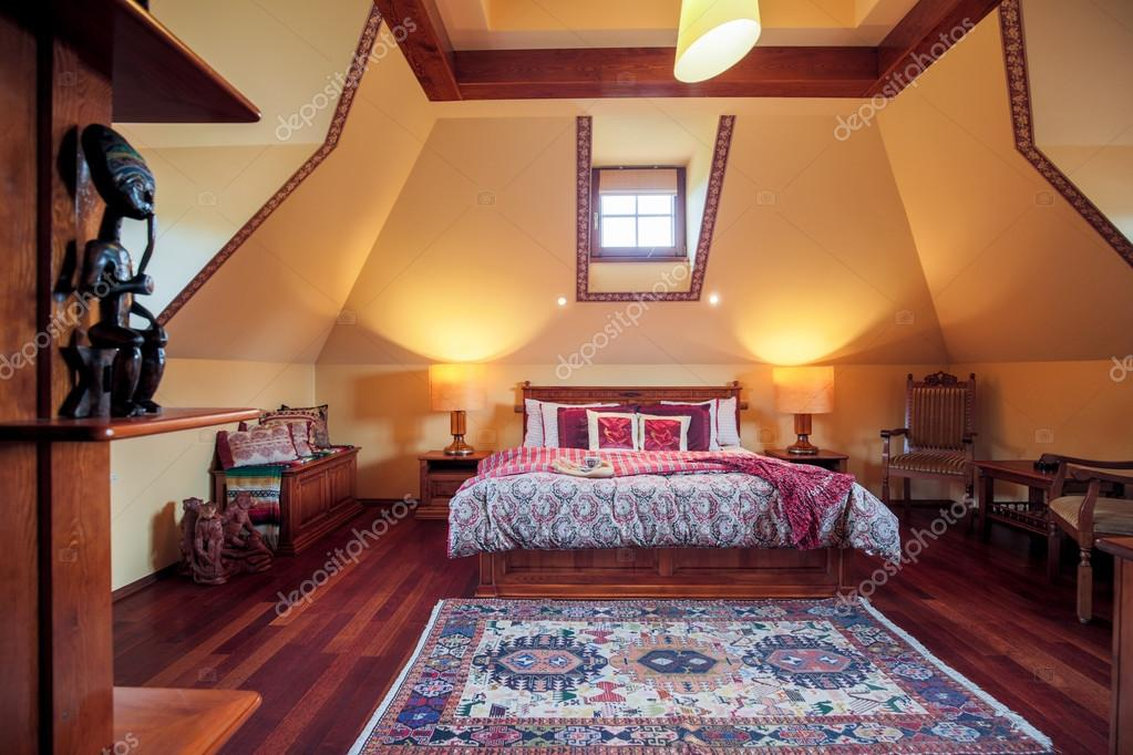Schlafzimmer im Kolonialstil — Stockfoto © photographee.eu #78173318