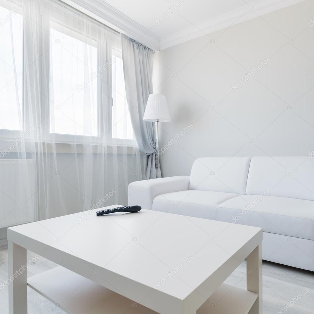 Minimalistischen Wohnzimmer Gestaltung U2014 Stockfoto