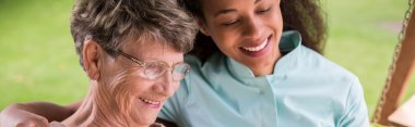 Nursing home female resident