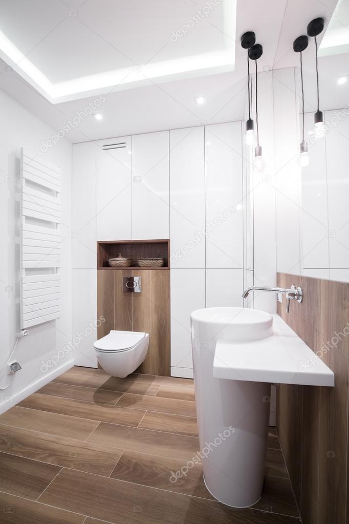 cuarto de baño del diseño moderno — Foto de stock © photographee.eu ...