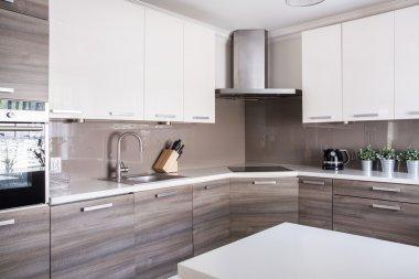 Bright spacious kitchen
