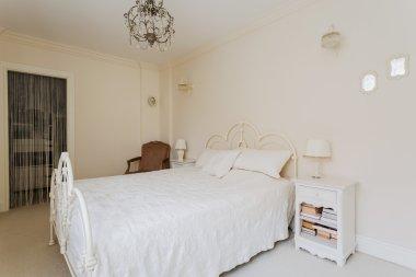 Bright bedroom of teenage princess