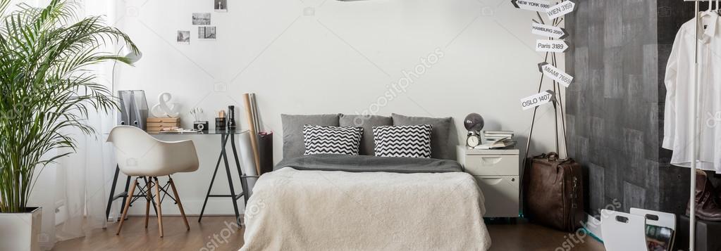 Exklusive Schlafzimmer Fur Einen Mann Stockfoto C Photographee Eu