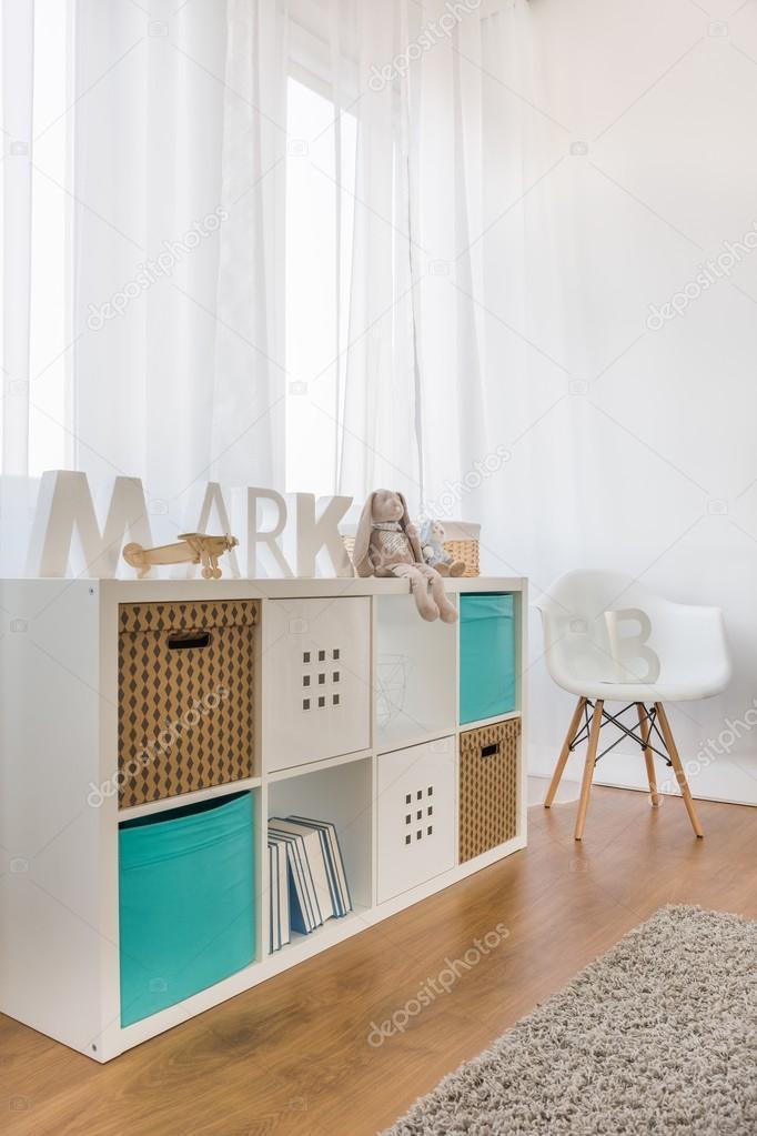 Muebles para bebé moderno — Foto de stock © photographee.eu #94876106