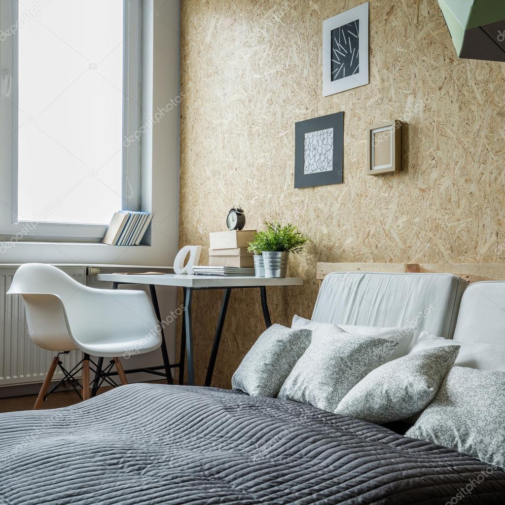 Raum zum Lernen und schlafen — Stockfoto © photographee.eu #95730214